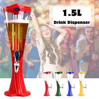 1.5L Machine Beer Container Pourer Bar Ice Core Beer cocktail Beverage Dispenser Machine Container Pourer Bar Tool Beer Tower