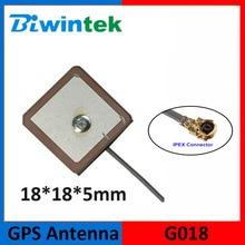 Biwintek G018(10pcs) GPS GNSS Patch Antenna 18*18 Receiver Inner Lively Automobile Automobile Navigation RF1.13 IPEX UFL Excessive Achieve Quick