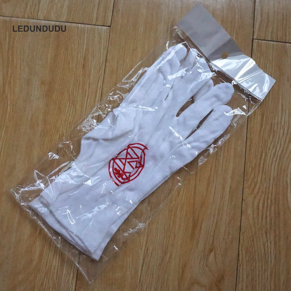 Edward Elric Gloves in Plastic