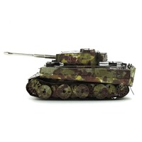 Colorful Ww2 Panzerkampfwagen Vi Ausf E Tiger I Fun 3d Metal Diy Miniature Model Kits Puzzle