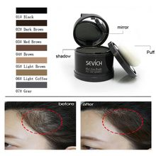 High Quality 4g Hair Line Powder Hairline Repair Shadow Cover Up Fill in Thinning Hairs