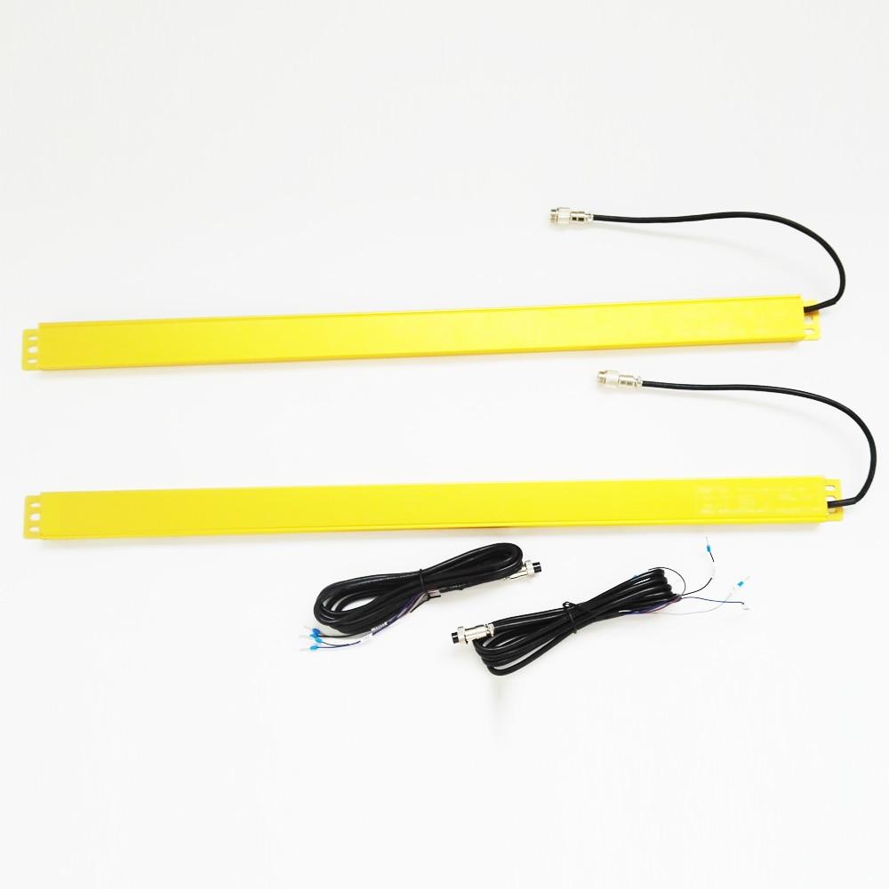 Luce di sicurezza reticolo sensore di 40 millimetri di spazio 12 travi protezione punzonatura pressa idraulica fotoelettrico protezione TR51 12 4J - 5