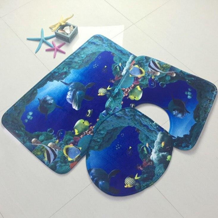Νέα 3 κομμάτια / σύνολο Ocean Υποβρύχιο - Αρχική υφάσματα - Φωτογραφία 3