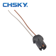 Chsky 2 шт. подходит для светодиодные лампы 5 Вт T10 патрон лампы пластиковые T10 разъем Высокое качество нейлон T10 разъем