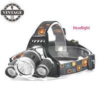 Бесплатная доставка DHL FEDEX 60 шт. 6000LM 3 х xm l L2 светодиодные фары USB фары 3 L2 фара RJ 5000