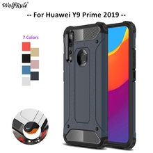 For Cover Huawei Y9 Prime 2019 Case TPU & PC Armor Bumper Protective Back Phone Case For Huawei Y9 Prime 2019 Cover Funda 6.59''(China)