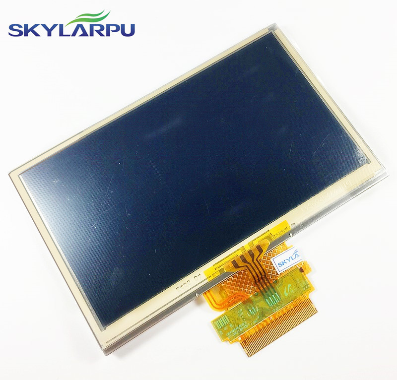 skylarpu 4.3 inch LCD screen for TOMTOM START 42 LCD display screen panel with Touch screen digitizer replacement Free shipping