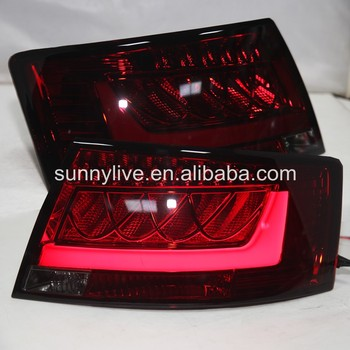 LED Tail Lamp For AUDI A6L 2005 to 2008 year Dark Red JY