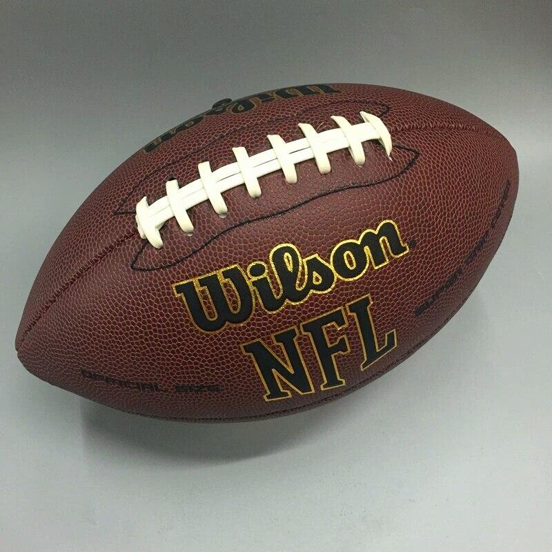 Wilson NEF MVP entrenamiento Supremo Junior Bola De Futebol Americano  óptima tamaños 9   PU Material oficial pelota De Rugby en El fútbol y el  Rugby de ... 0023b326b87