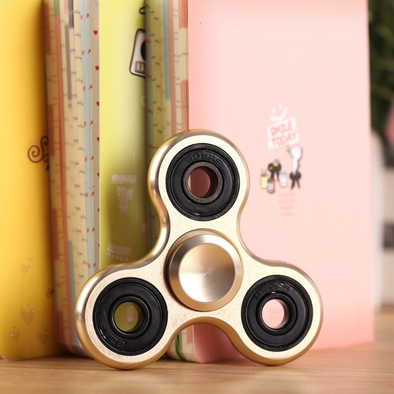 Spinner Fidget Toy Metal EDC Fidget Hand Spinner For Autism and ADHD Increase Focus Keep Hands Busy Yoy Gift