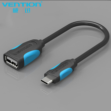 VENTION USB C To USB OTG Cable Adapter For Xiao Mi5 Nexus 5X 6P USB Type C OTG Cable For Huawei P9 Plus 2.0 USB Type-c OTG