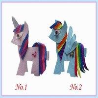 68 pcs new style princessBLESSING Good Girl Bug Clip Little Pony Minions Hippopotamus Robot Monster
