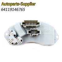 New Fan Motor Heater Resistor Speed Controller 64119146765 For BMW 1 3 Series X5 X6 E87 E81 E88 E91 E90 E92 64119265892