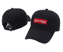 Savage Baseball Cap Embroidery Men Dad Hat Cotton Bone Women Snapback Caps Hip Hop Sun Fashion Style Kpop Camouflage Caps