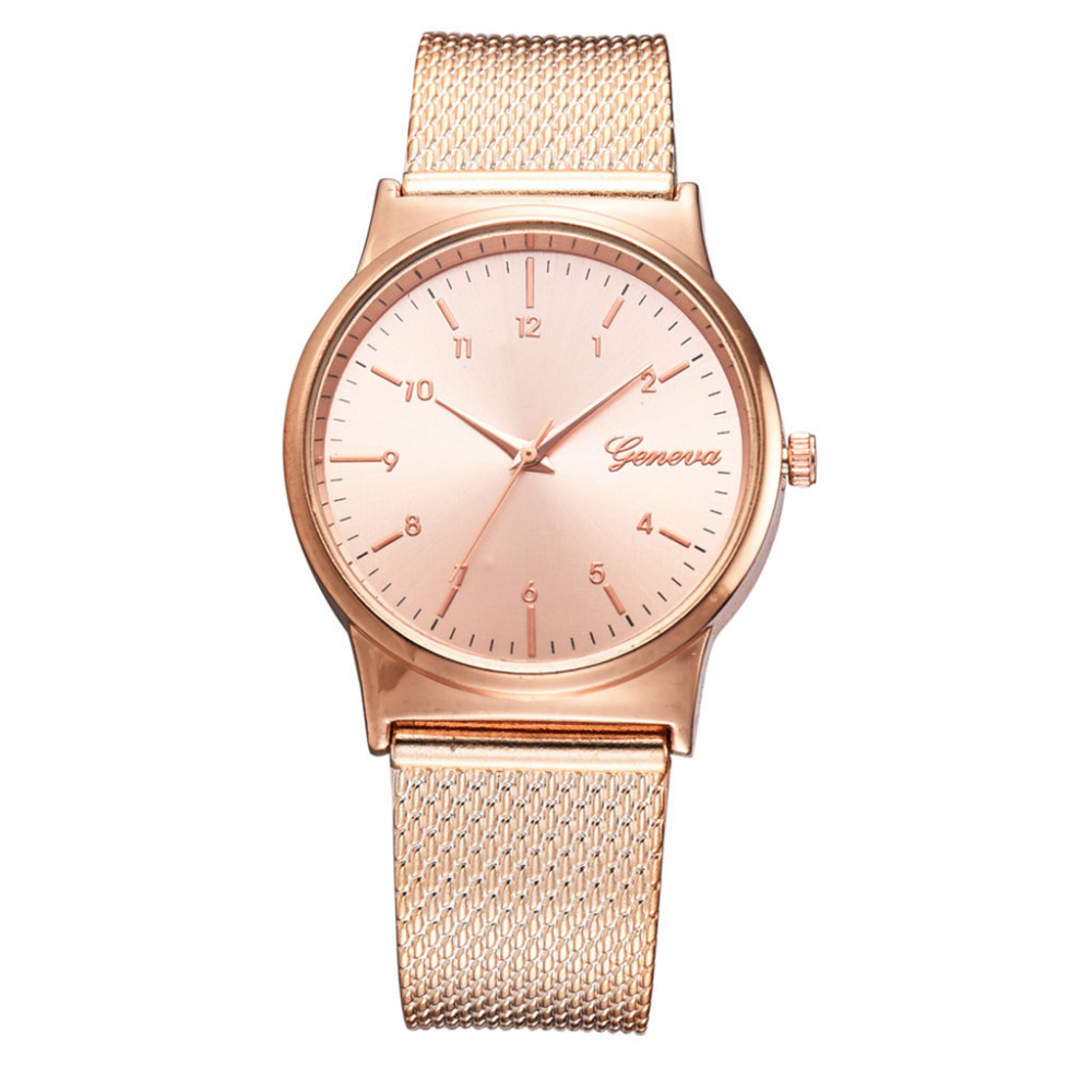 Hot Fashion Mesh Strap Women Watches Minimalist Style Dial Gift Clock Ladies Dress Temperament Quartz Watch Relogio Feminino #W