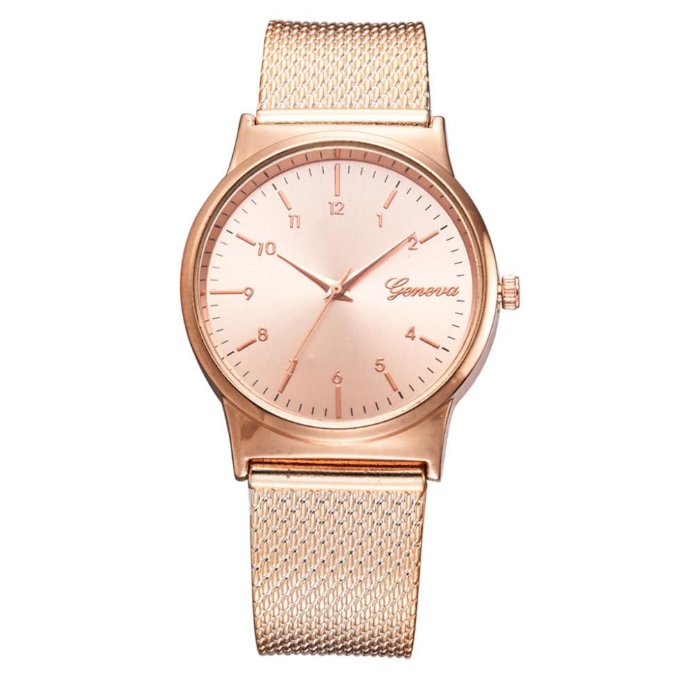 Hot Fashion Mesh Strap Women Watches Minimalist Style Dial Gift Clock Ladies Dress Temperament Quartz Watch Relogio Feminino #W