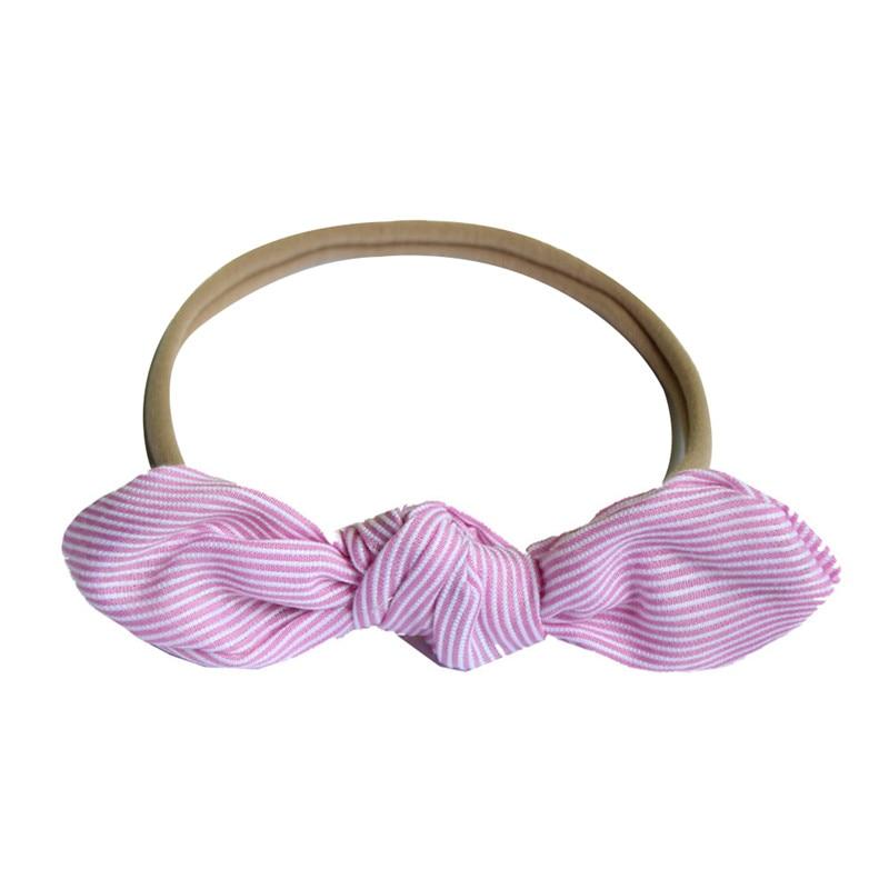 Girls' Baby Clothing Clever Newborn Baby Headwear Hair Accessories Ear Elastic Headband For Girls Knot Bandage Hairband Turban Headbands Headwrap Outdoor