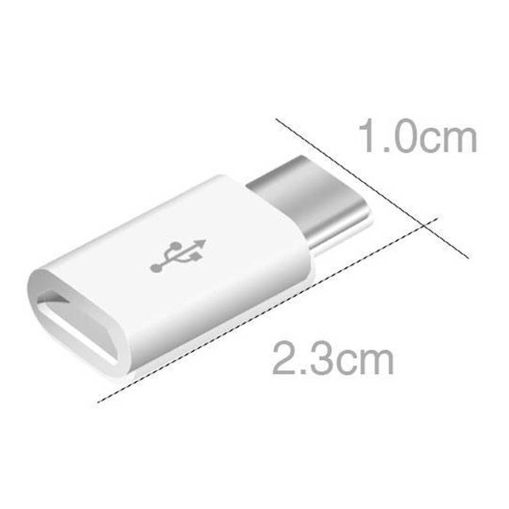 Adaptador de teléfono móvil de 5/1 Uds. Adaptador Micro USB a USB C conector Microusb para Xiaomi Huawei Samsung Galaxy A7 adaptador USB tipo C