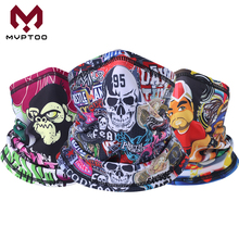 Winter Polar Fleece Bandanas Motorcycle Neck Gaiter Skull Face Mask Moto Tube Scarf Balaclava Ski Snowboard Headband Men Girls раскраска по номерам семья львов 28x39см