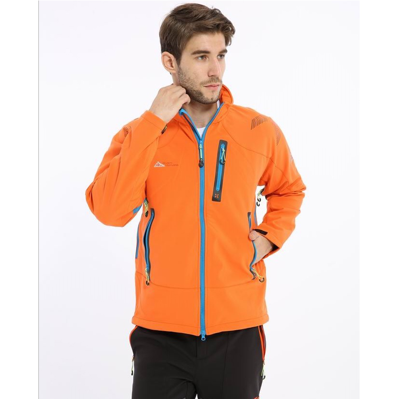 Waterproof Windproof Hiking Jackets Men 2017 Outdoor Softshell Jacket Outdoor Climbing Fishing Ski Clothing soft shell Jackets