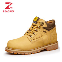 Z Brand 2017 New Product Fashion Boots Hard Wearing Lace Up Comfortable Breathable Lining High Quality