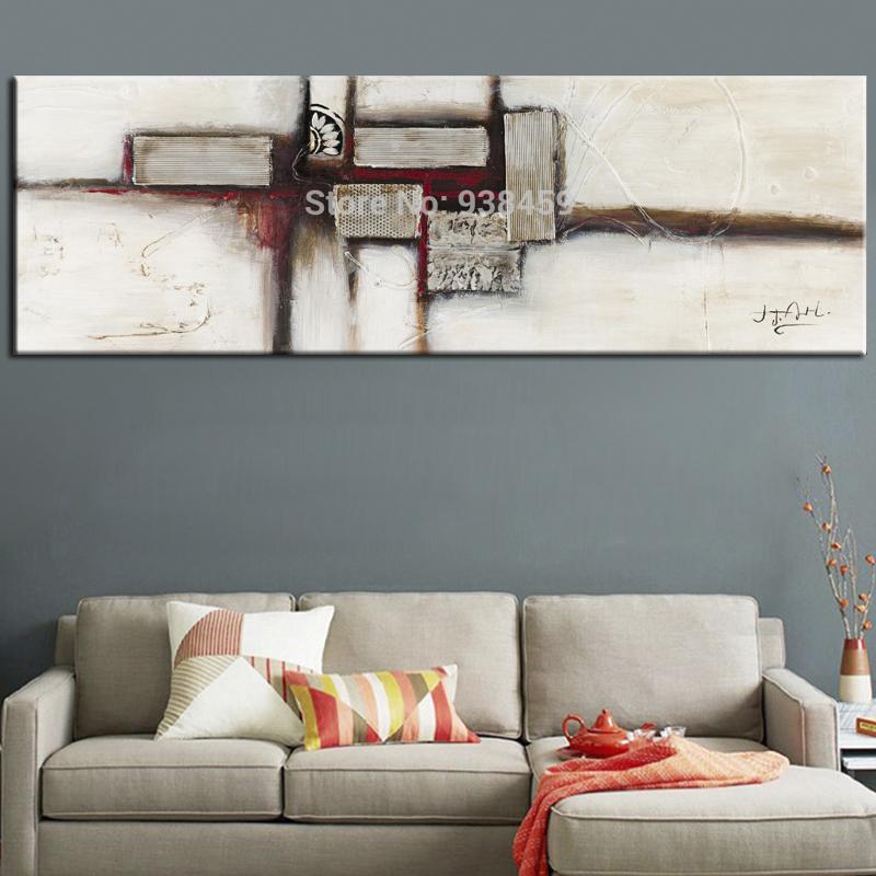 envo libre hecho a mano grande pintura abstracta hermosa pintura cuadros abstractos de la lona wall
