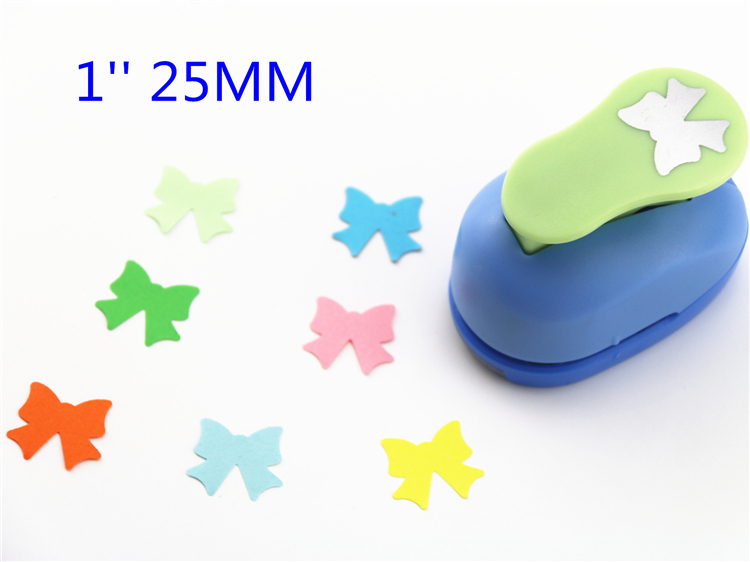 Free Ship 1'' Bow Paper Cutter Scrapbooking Punches Paper Punch Eva Foam Punch Child Diy Craft Punch ScrapbookS293716