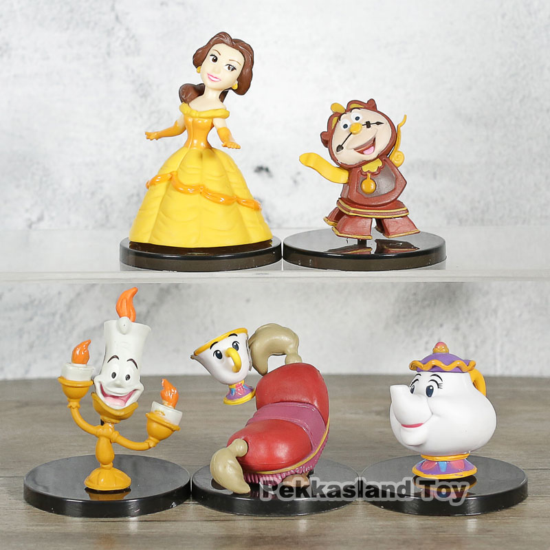 Beauty And The Beast World Collectable Figure Story.08 set of 5 Banpresto ToyBeauty And The Beast World Collectable Figure Story.08 set of 5 Banpresto Toy