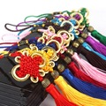 Car Ornaments Chinese Knotting Tassel Hanging Car Decoration China Lucky Chinese Style Unique Gift for Friends 9 Color