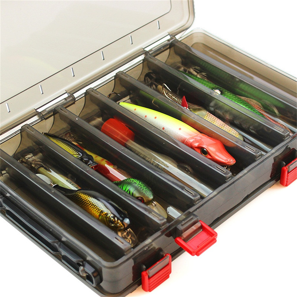 10/14/20pcs Fishing Spoon Lures Spinner Bait Fishing Wobbler Box Baits Spinnerbait Isca Artificial Free With Box M23(China)
