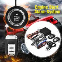 9Pc fai da te Auto SUV Avviamento Del Motore Keyless Entry Keyless Pulsante Push di Allarme Avviamento A Distanza di Arresto Automobili Auto Auto accessori