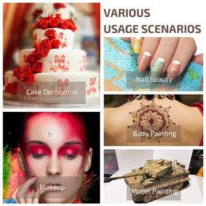 Image 2 - Nail Airbrush Kit Compressor Portable 0.2mm Nail Airbrush Tattoo Make Up 3 Speeds Modes Tool For Nail Art Tools