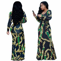 Summer Traditional African Clothing 2 Piece Set Women Africaine Print Dashiki Dress African Clothes indian bazin riche femme