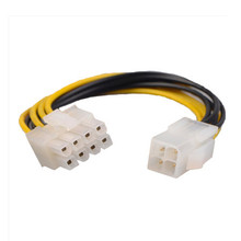 Cord-Adapter Power-Cable Pcie Riser Atx Usb pci-E Female Sata To 4-Pin Male-To-8-Pin