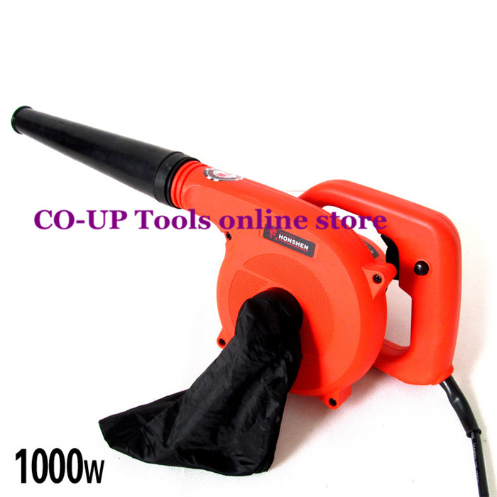1000W 220V High Efficiency Electric Air Blower Vacuum Cleaner Blowing/Dust collecting 2 in 1 24v lithium battery high efficiency collector air blower vacuum cleaner blowing dust collecting 2 in 1 luban