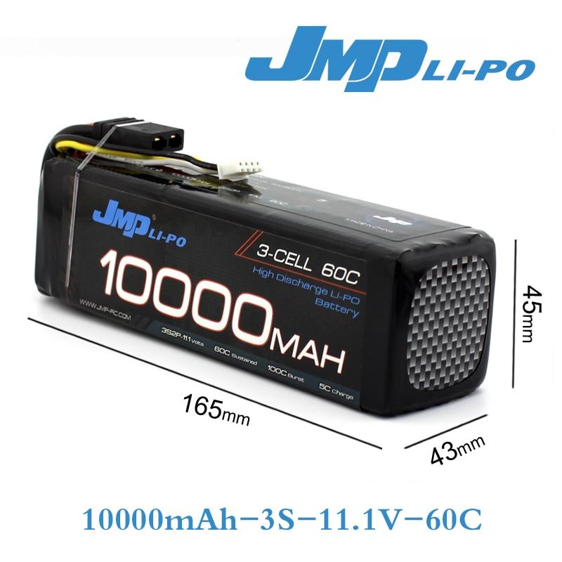 JMP Lipo Battery 3S 10000mAh 11.1V Battery Pack 60C Battery for TRAXXAS X-MAXX 77086-4 SPARTAN DCB-M41 3 6v 2400mah rechargeable battery pack for psp 3000 2000