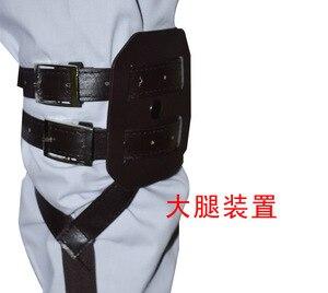 Image 5 - Harnais dessin animé japonais de Titan Shingeki No Kyojin Recon Corps, ceintures ajustables, crochet, Costume Cosplay