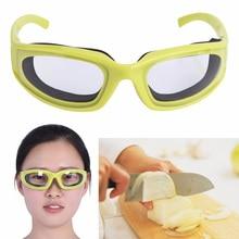 1 шт. кухня интимные аксессуары лук очки уход за кожей лица щиты пособия по кулинарии инструменты зеленый цвет Kichen барбекю детская безоп
