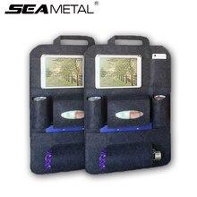 Сумка-Органайзер для автомобиля на заднем сиденье хранения Универсальный сумки средства ухода для автомобиля стул багажник коробка карман протектор в авто