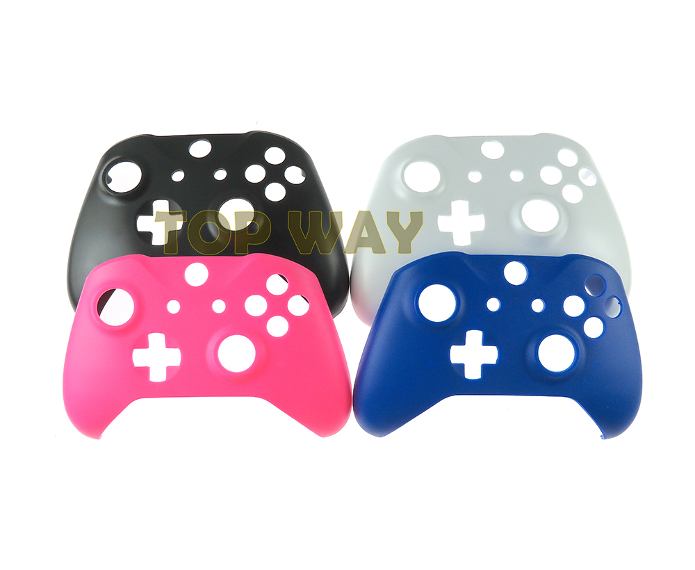 Front Top Pad Skin Case Faceplate Shell For Microsoft Xbox One S XBOXONE Slim Controller Case Shell Gamepad Accessories