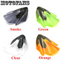 Motofans- New Motorcycle Windshield WindScreen for Kawasaki ER-6N ER6N 2012 2013 2014 Racing Version Smoke/ Clear/ Green/ Orange