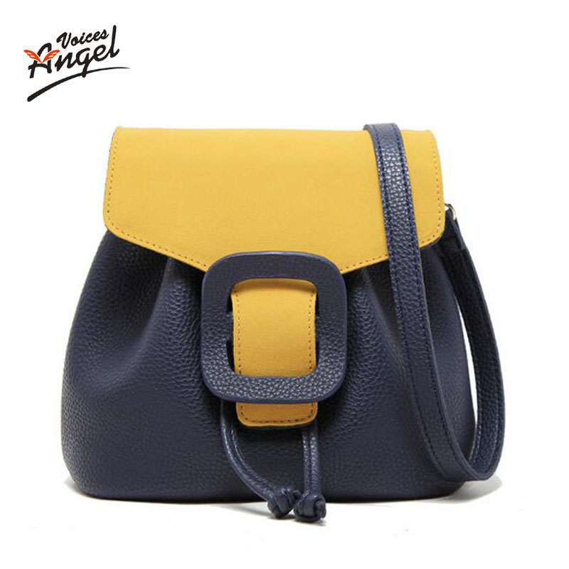 Women Bag Pu Leather Tote Brand Name Bag Ladies Handbag Lady Evening Bags Solid Female Messenger Bags Travel Fashion Sac 2017