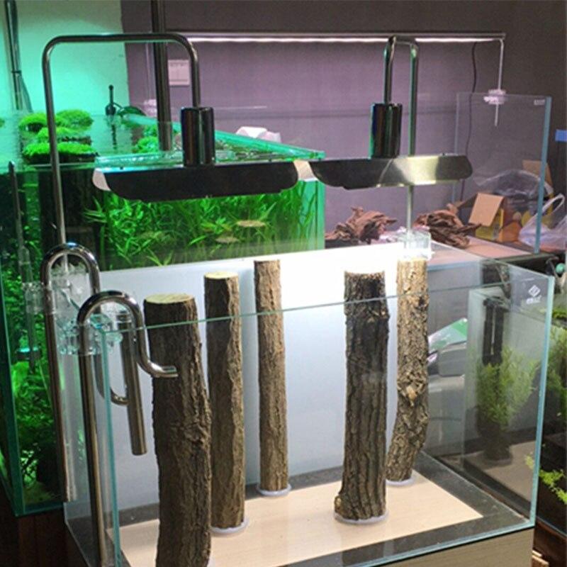 Hygger Clip sur lumière LED d'aquarium, Blanc et Bleu LED s, fish Tank Pince Lumière pour Aquarium Plantes Poussent avec Réglable Clip Adapte