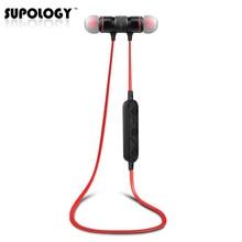 Supology K920 Deporte de Auriculares En La Oreja Auricular Bluetooth Inalámbrico de Auriculares Auriculares Estéreo con Micrófono para El Iphone 7