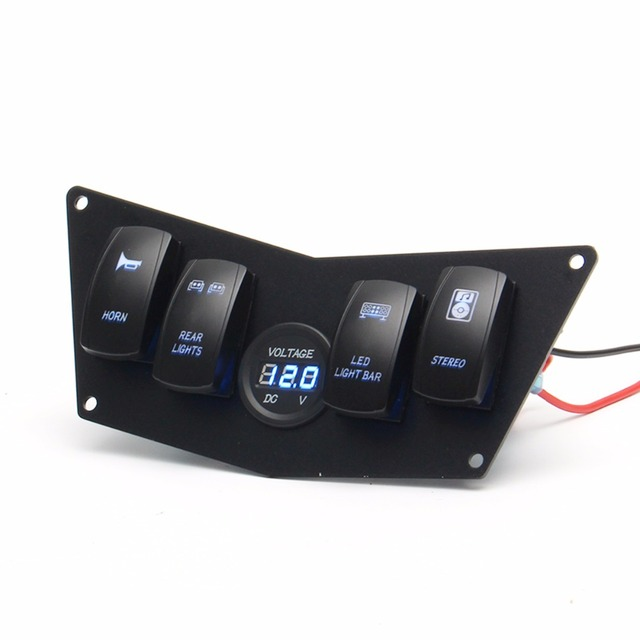 Digital de 4 interruptor volt painel de instrumentos para polaris digital de 4 interruptor volt painel de instrumentos para polaris ranger rzr 800 s 900xp xp900 fandeluxe Image collections