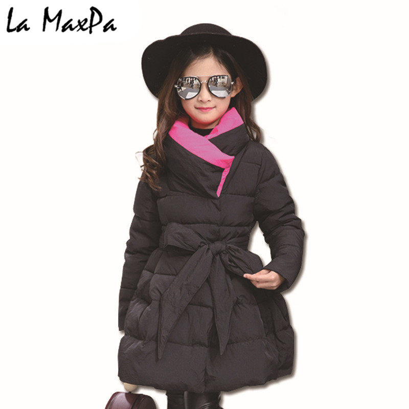 Toddler Girls Winter Coats and Jackets Children Girls Parka Spring Autumn Warm Girls Clothes 2018 Big Teen Age 4 6 8 10 12 Year children autumn and winter warm clothes boys and girls thick cashmere sweaters