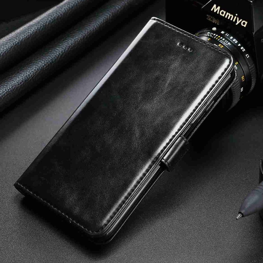 AXBETY Vintage Flip Case For Motorola MOTO E4 Plus Case Retro Wallet Leather Cover For MOTO E4 Magnetic Stand Card Holder Fundas