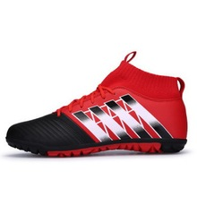 Football Boots Kids 2018 Superfly Original Kids Sneakers Boy And Girls Football Boots High Ankle Soccer Broken Nail Youth Shoe