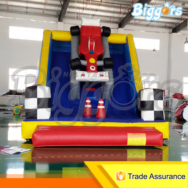 Inflatable Biggors Commercial Inflatable Slide Double Line PVC Bouncer Outdoor Amusement Park