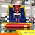 Linha de PVC Bouncer inflável Biggors Inflável Comercial Slide Duplo Ao Ar Livre do Parque de Diversões